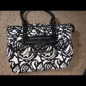 Tyler Rodan Black & White Handbag